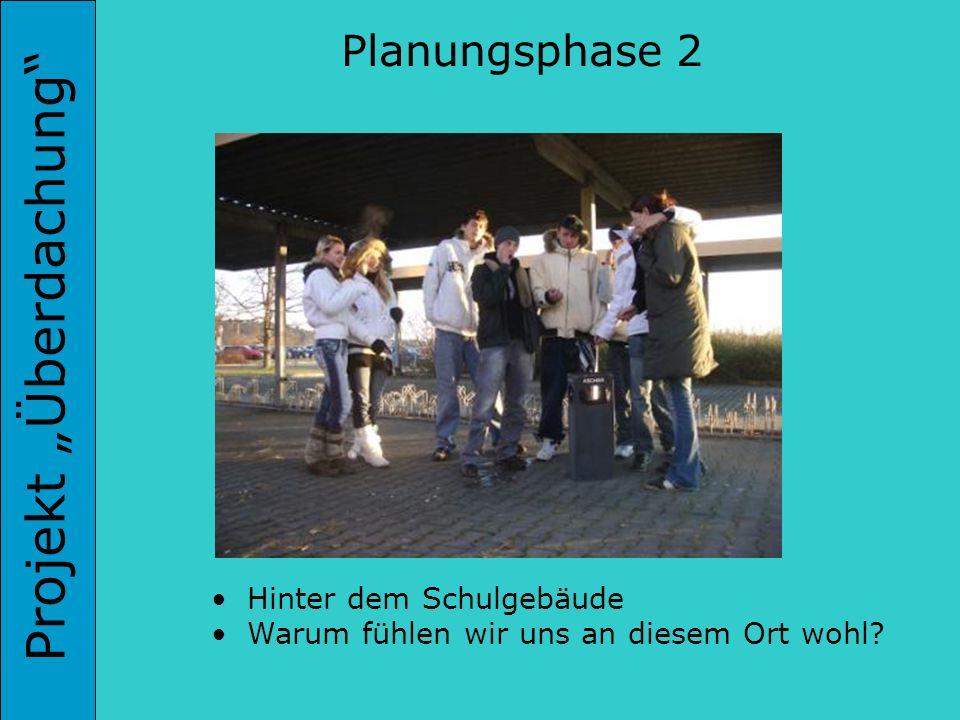Projekt Überdachung In der Werkstatt Architektenwettbewerb Planungsphase 6