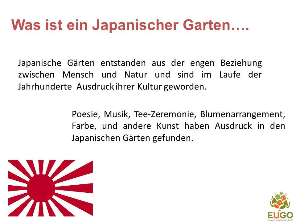 Was ist ein Japanischer Garten….