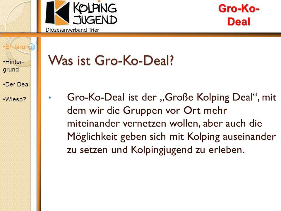 Was ist Gro-Ko-Deal. Was ist Gro-Ko-Deal.