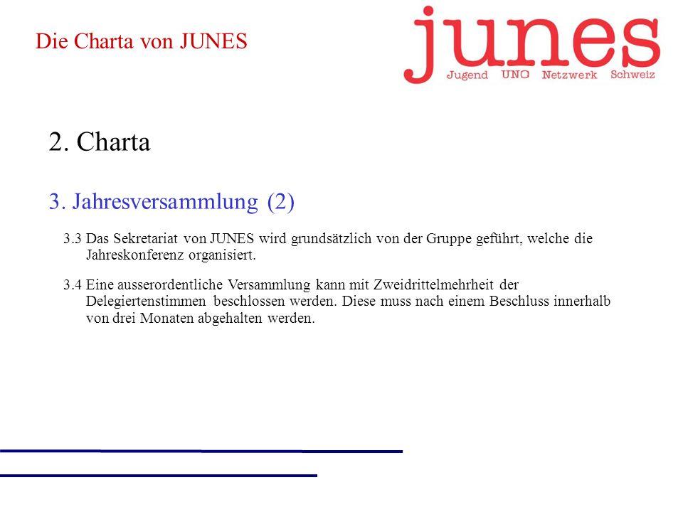 2. Charta 3.
