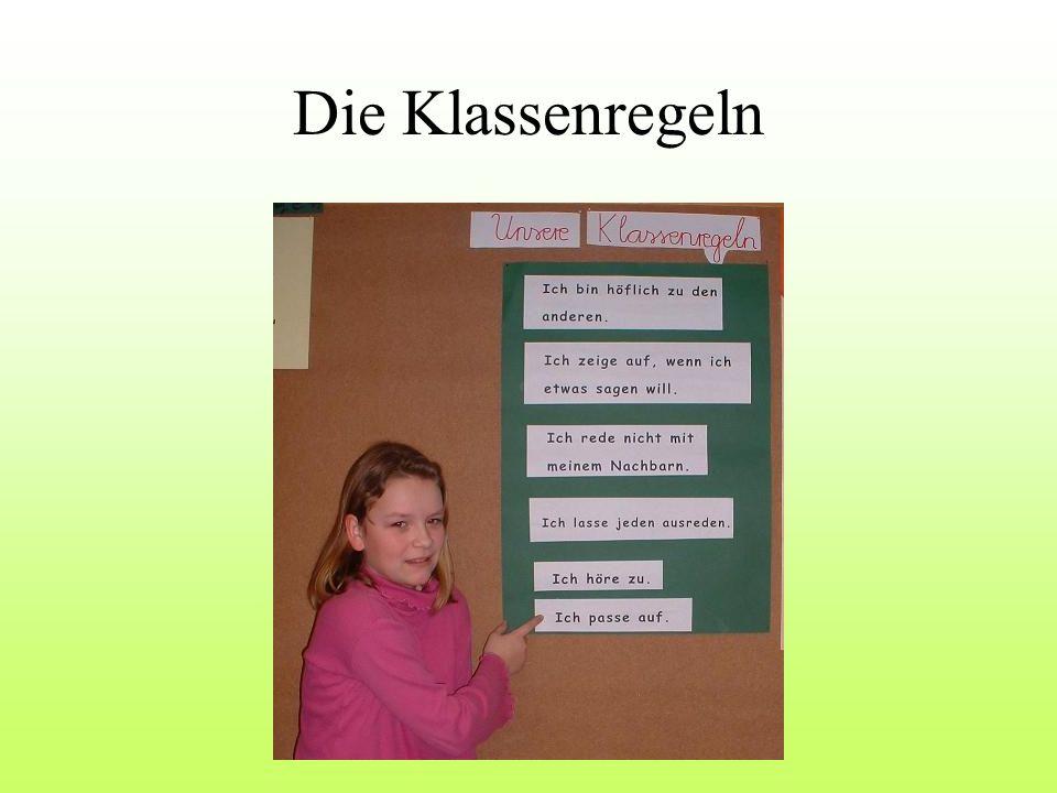 Die Klassenregeln