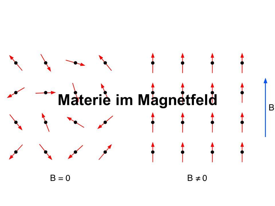 Materie im Magnetfeld