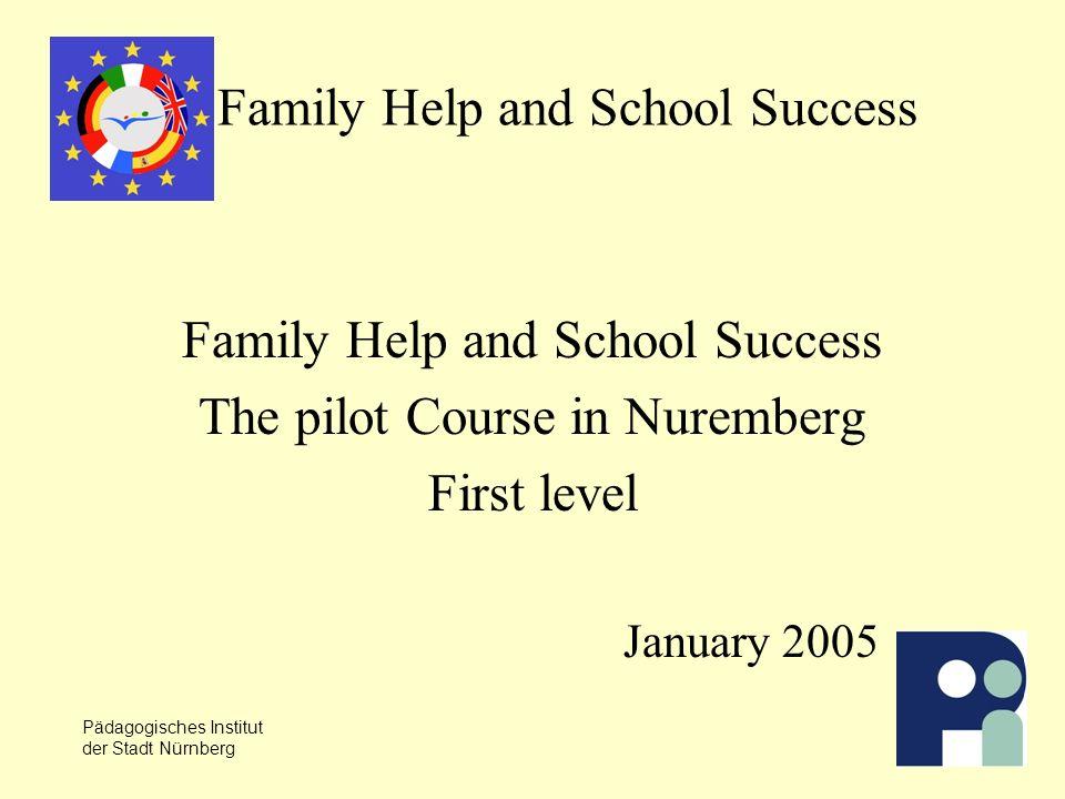Pädagogisches Institut der Stadt Nürnberg Drei Themenschwerpunkte im Kurs, Niveau I Ich und die anderen in der Schule Schul-Alltag Alltag und Freizeit