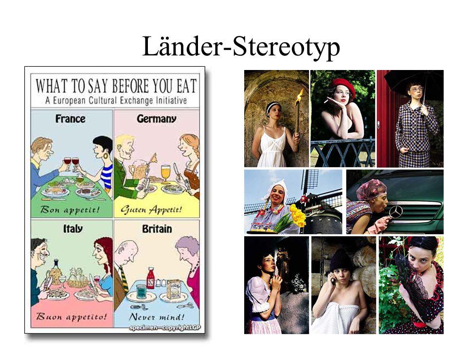 Länder-Stereotyp