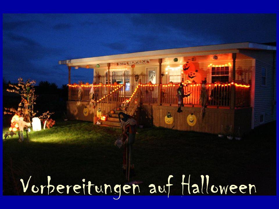 Vorbereitungen auf Halloween