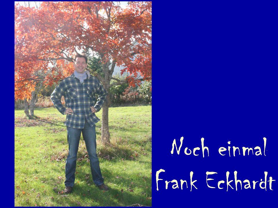 Noch einmal Frank Eckhardt