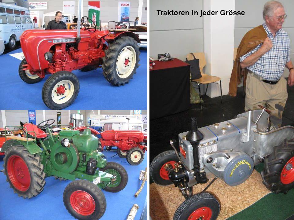 Traktoren in jeder Grösse