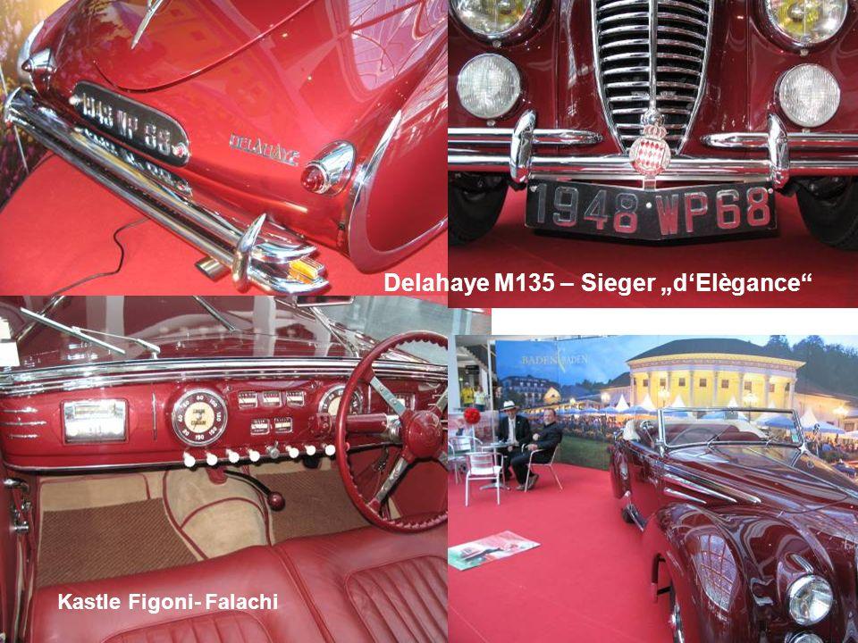 Delahaye M135 – Sieger dElègance Kastle Figoni- Falachi