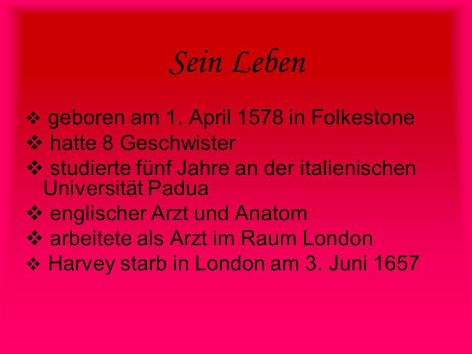 Sein Leben geboren am 1. April 1578 in Folkestone hatte 8 Geschwister studierte fünf Jahre an der italienischen Universität Padua englischer Arzt und
