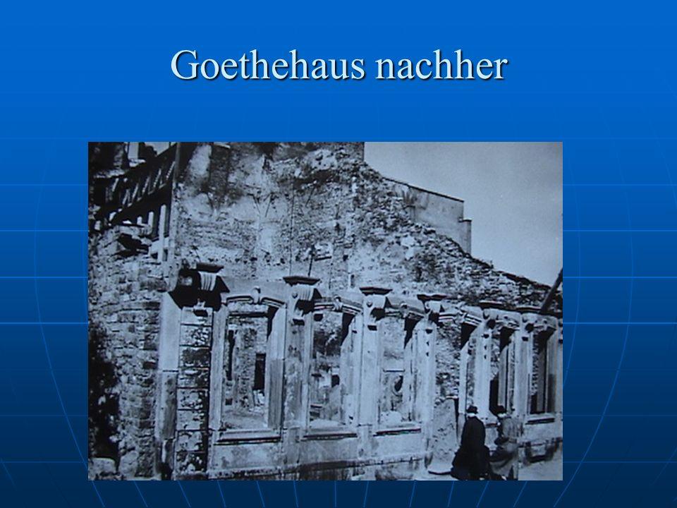 Goethehaus nachher