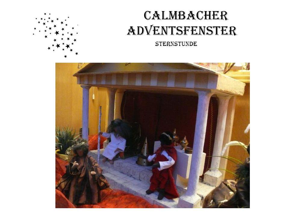 Calmbacher Adventsfenster Sternstunde Fenster 19: Auferstehung Jesu Familie Kloß, Calwer Str. 5