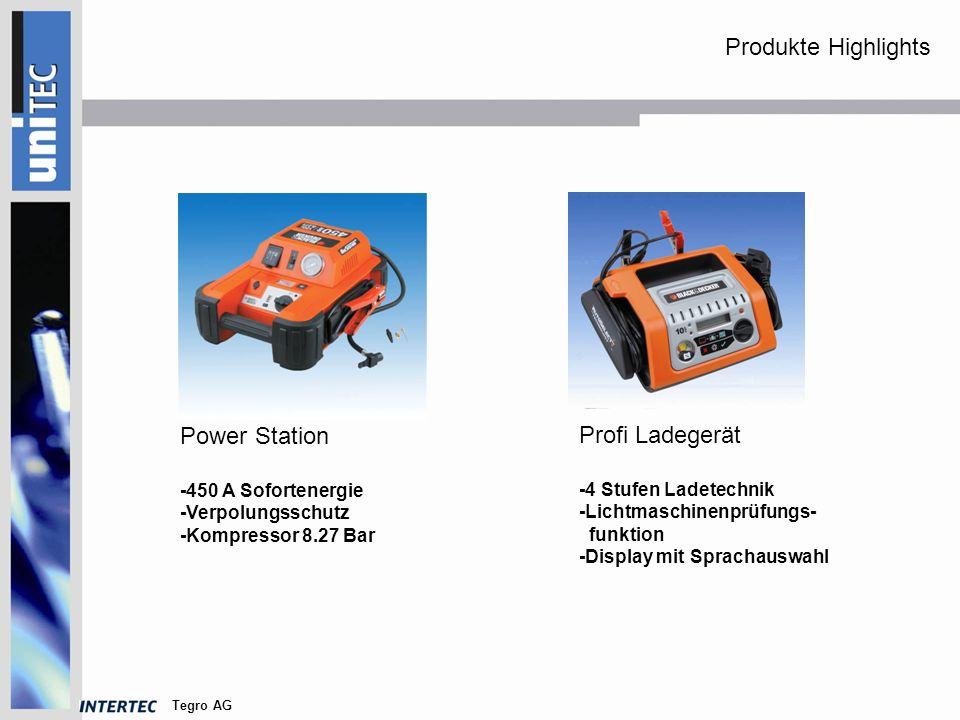 Tegro AG Erhaltungsladegerät -6 und 12 Volt -Eingangsspannung 220- 240 V -Ausgangsstrom 1,2 A Power Inverter -12 Volt > 230 V - 400 Watt max.
