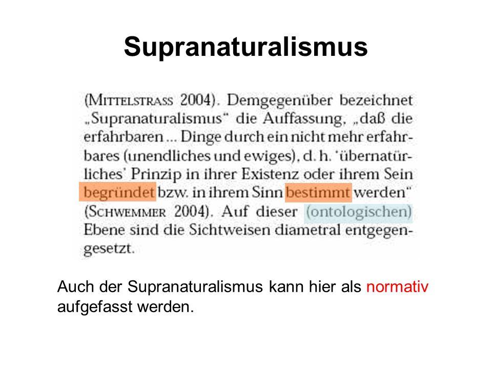 Hypothetischer Realismus Postulat 1.1.