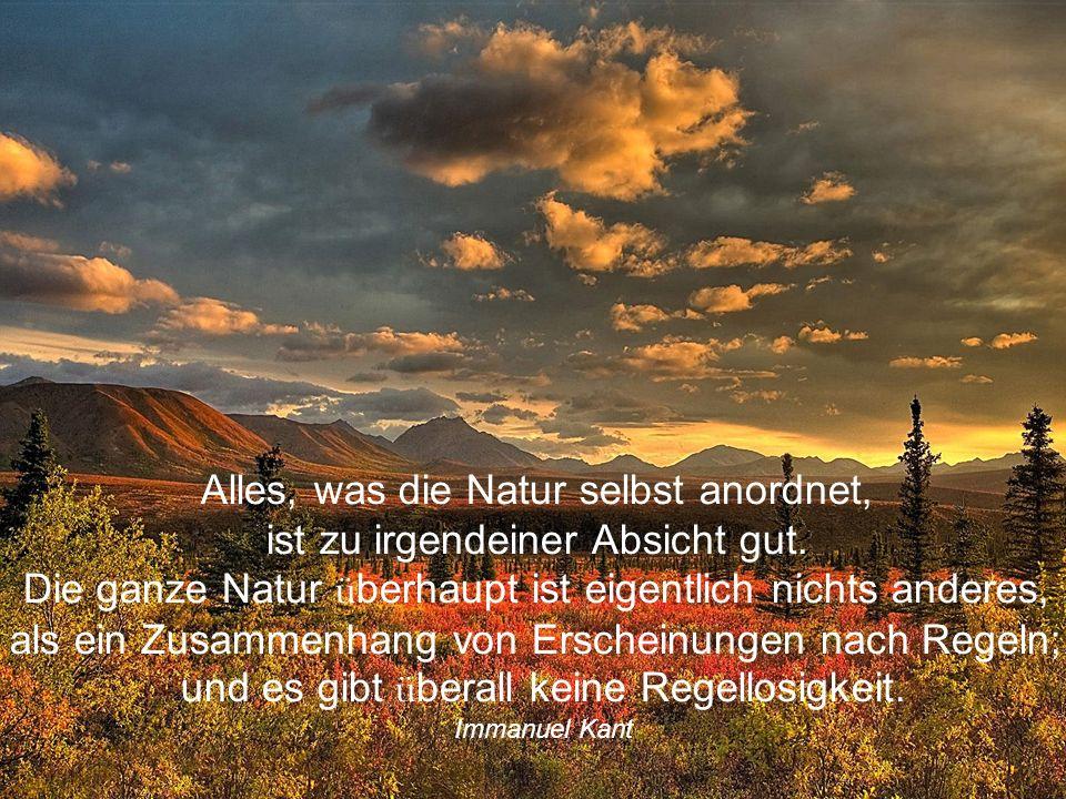 Doch gibt's kein Mittel, die Natur zu bessern, das die Natur nicht selbst schafft William Shakespeare