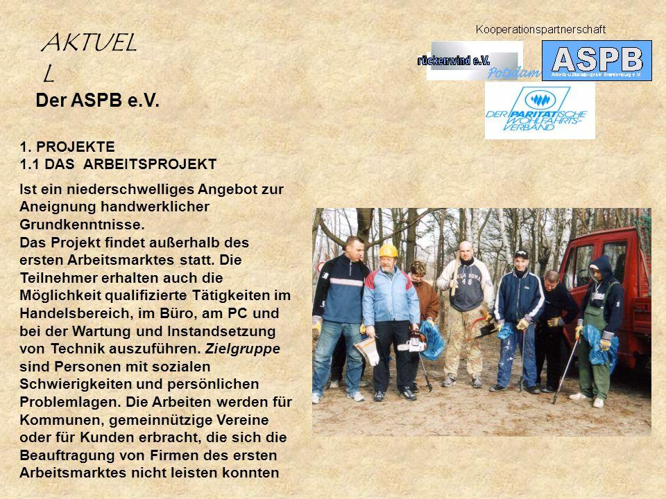 Der ASPB e.V.1.