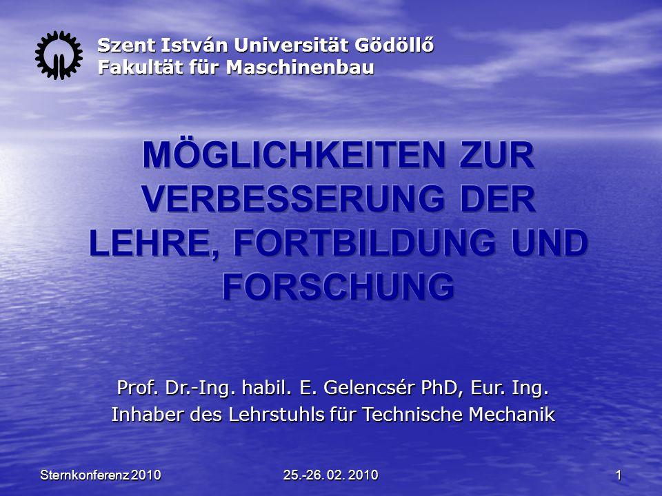 Sternkonferenz 201025.-26.02.