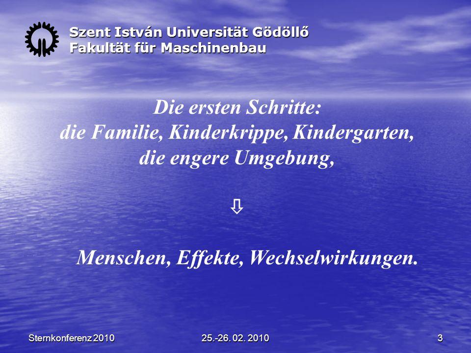 Sternkonferenz 201025.-26.02. 20104 Die zweite Phase: die Grundausbildung, Grundschule.