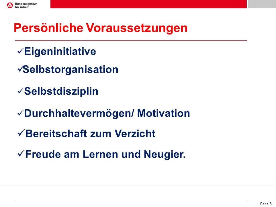 Seite 7 Studiengänge suchen: www.hochschulkompass.de www.studienwahl.de Infos über Berufsinhalte www.berufenet.arbeitsagentur.de www.hochschulkompass.