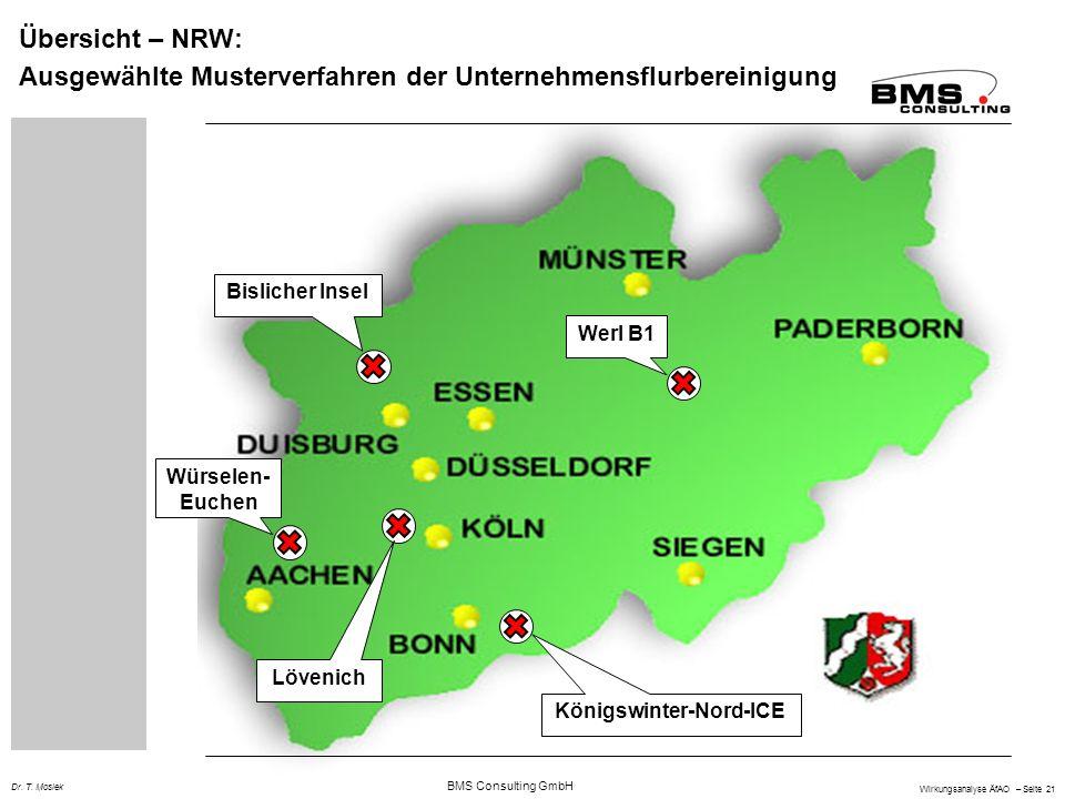 BMS Consulting GmbH Wirkungsanalyse ÄfAO – Seite 21 Dr.