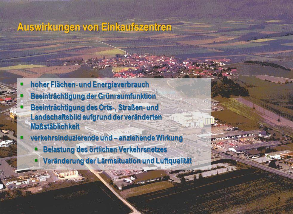 Universität für Bodenkultur Wien Department für Raum, Landschaft und Infrastruktur IRUB 2 hoher Flächen- und Energieverbrauch hoher Flächen- und Energ