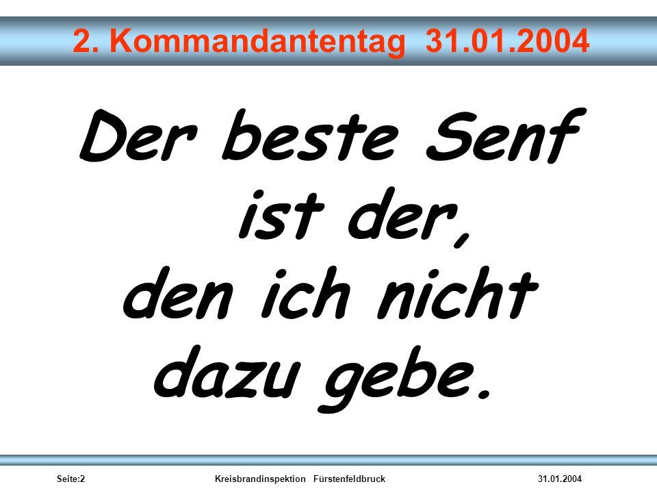 Seite:2Kreisbrandinspektion Fürstenfeldbruck31.01.2004 2.