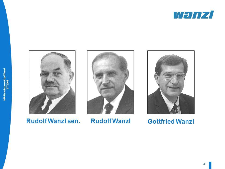 4 Rudolf Wanzl sen. Rudolf Wanzl Gottfried Wanzl