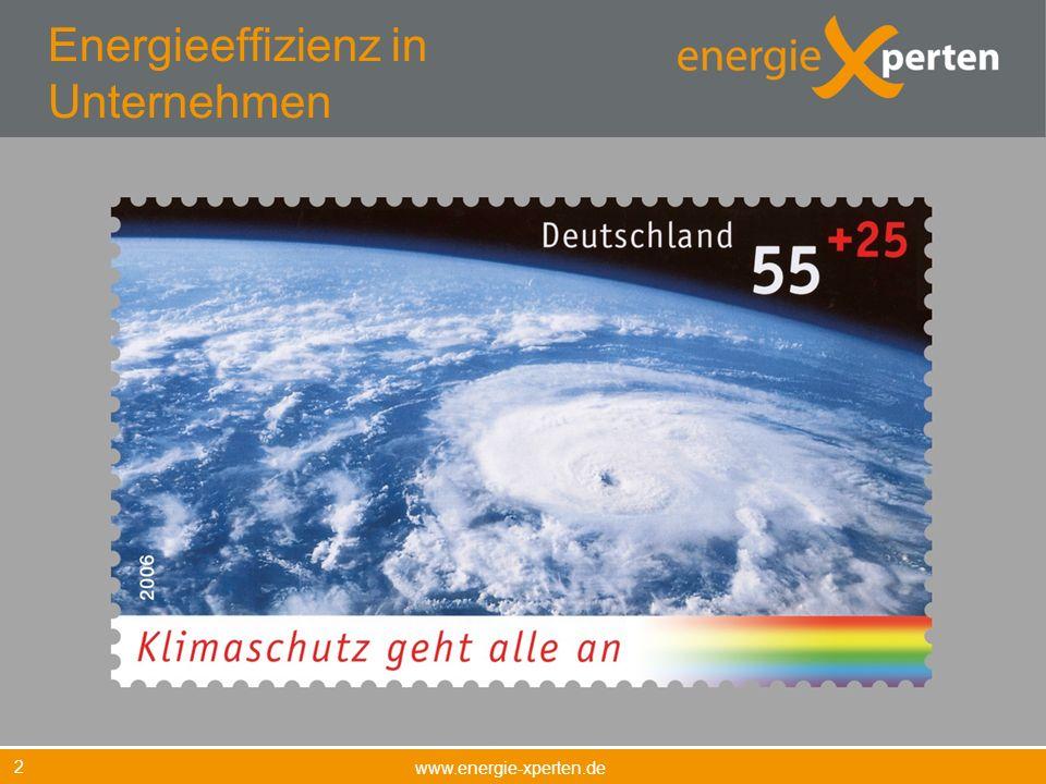 Energieeffizienz in Unternehmen www.energie-xperten.de 2