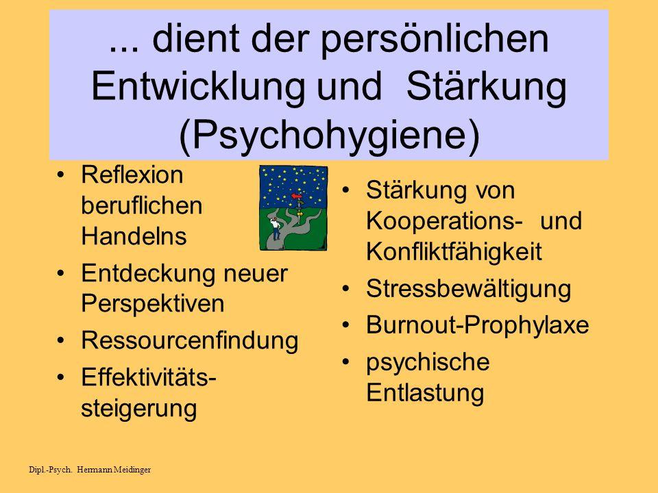 Qualitätssicherung in Schule Dipl.-Psych. Hermann Meidinger