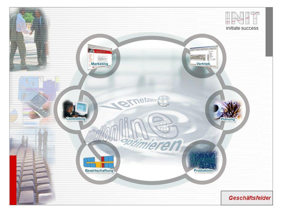 initiate success Ausgewählte Themenfelder Planung Aging- management eCommerce/ Konfiguration Bewirt- schaftung Standort- management Ausgewählte Themen