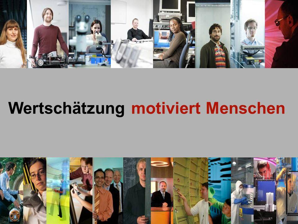 © Fraunhofer Wertschätzung motiviert Menschen