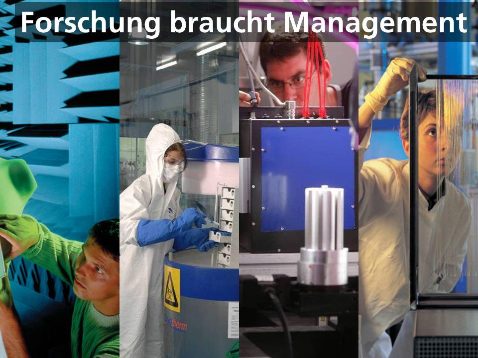 © Fraunhofer Forschung braucht Management