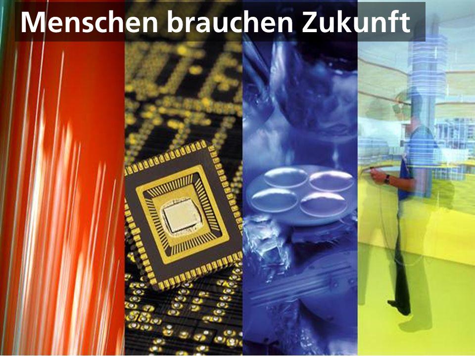 © Fraunhofer Menschen brauchen Zukunft