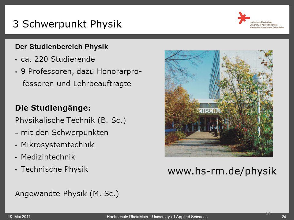 3 Schwerpunkt Physik 18.
