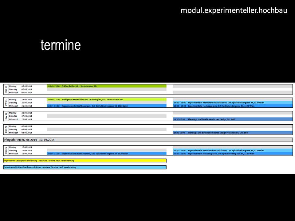 modul.experimenteller.hochbau termine