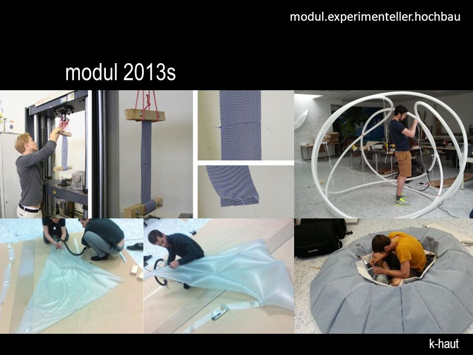 modul.experimenteller.hochbau modul 2013s k-haut