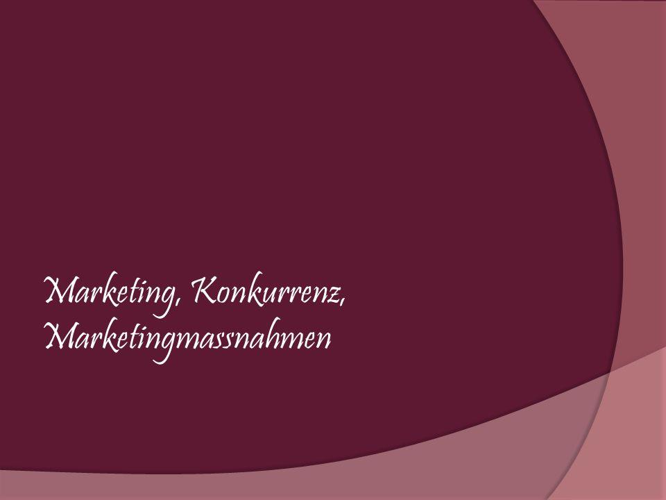 Marketing, Konkurrenz, Marketingmassnahmen