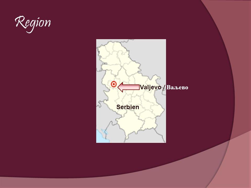 Region Valjevo / Ваљево Serbien