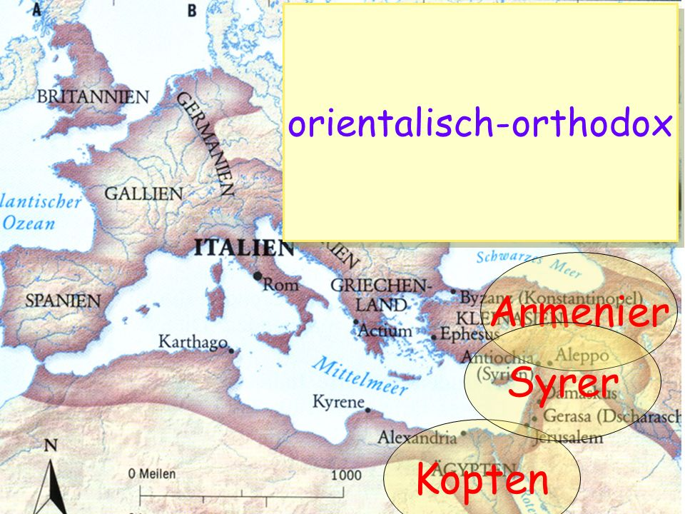 Kopten Armenier Syrer