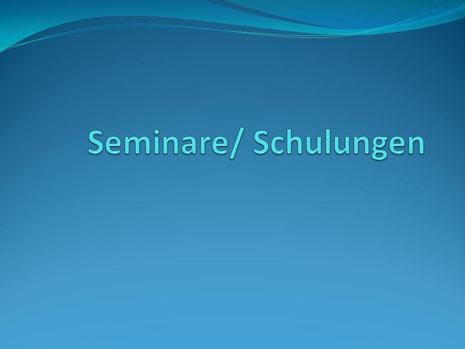 Seminare/ Schulungen Warum.- ejlum benötigt geschulte und fähige Mitarbeiter.