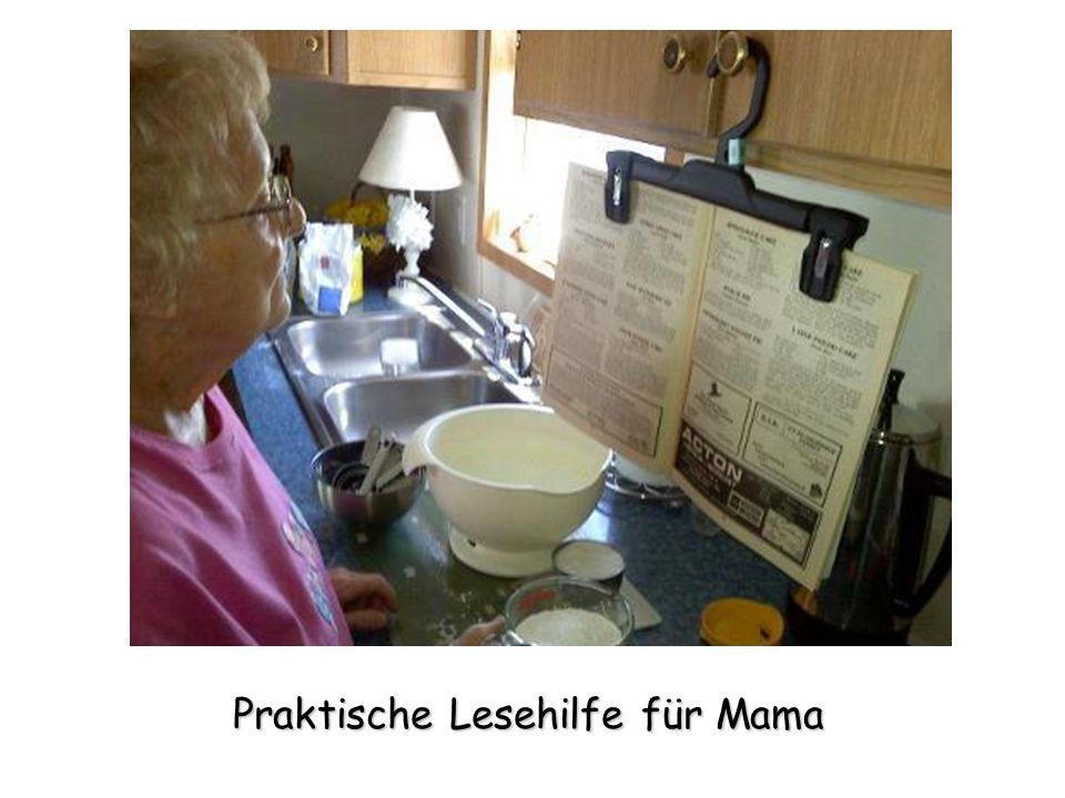 Praktische Lesehilfe für Mama