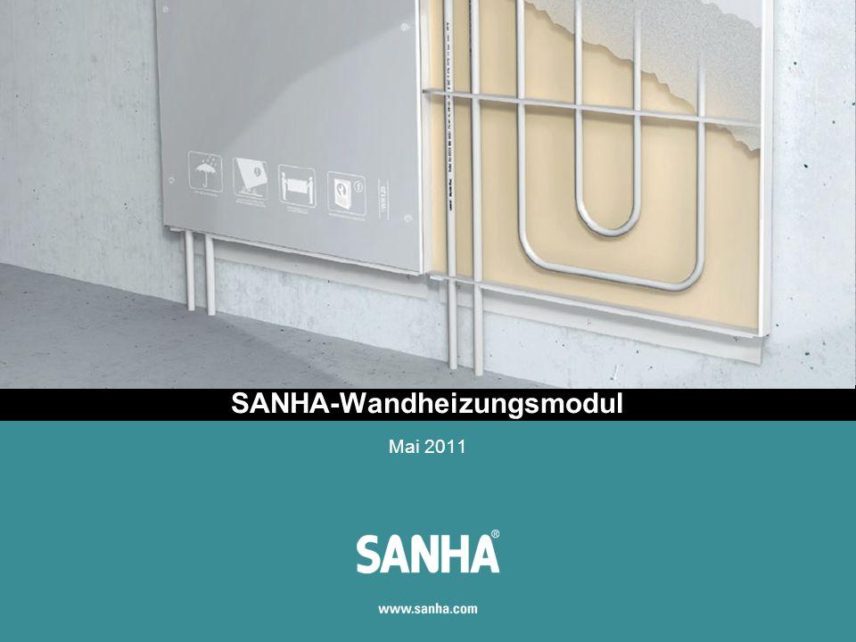 SANHA-Wandheizungsmodul Mai 2011