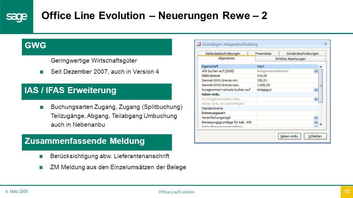 Office Line Evolution 4.
