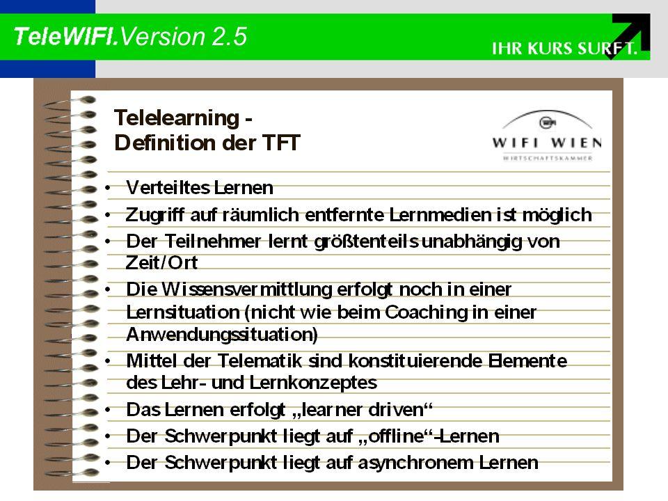 Die Komponenten TeleWIFI.Server Daten Bank TeleWIFI.Center TeleWIFI.Admin TeleWIFI.Coach TeleWIFI.Developer