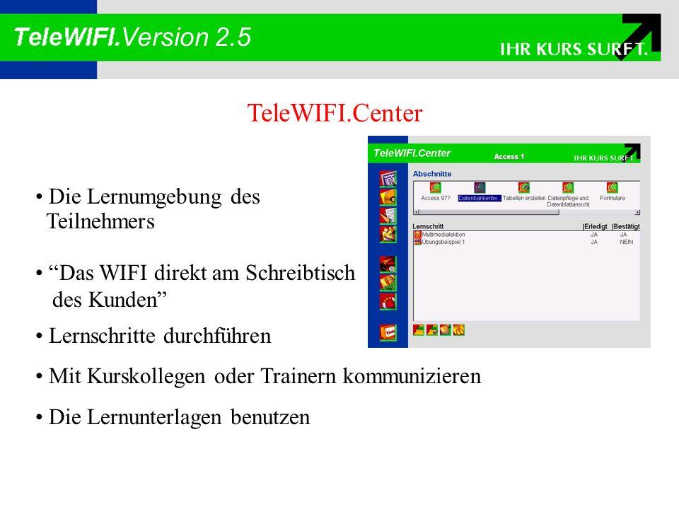 TeleWIFI.Book Ein System zum Erfassen und Bearbeiten elektronischer Skripten Werkzeug zum Erzeugen eines elektronischen Skriptums unter Ausnutzung aller Möglichkeiten der Interaktion: Lesezeichen Markierungen Anmerkungen Verzeichnisse Verzweigungen Exzerpierung Version 2.5