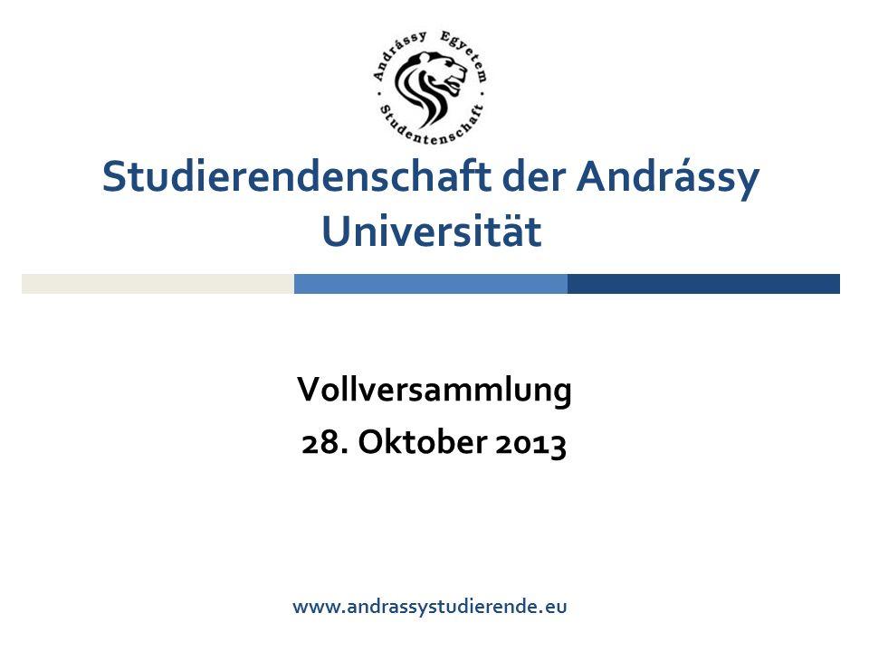 www.andrassystudierende.eu Vollversammlung 28.