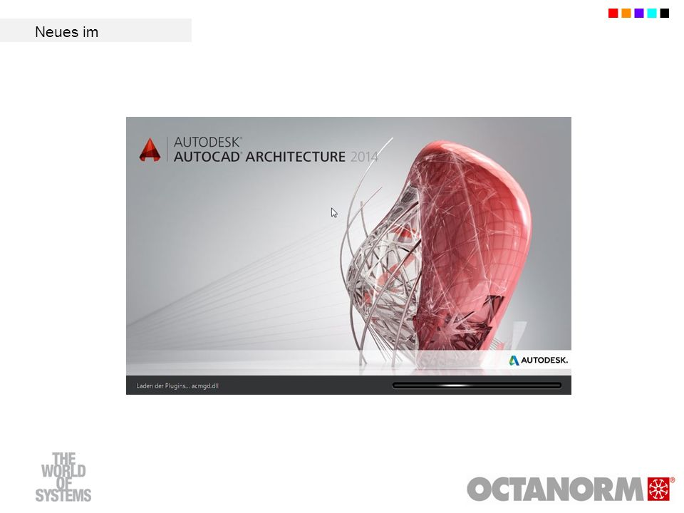 OCTAcad 14 Füllungen Füllungen können jetzt auch durch Selektion von bis zu 20 aneinander anschließenden Profilen erzeugt werden (neue Option N-eckige Füllung durch Selektion von beliebigen Profilen ).