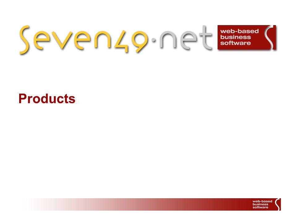2 Überblick seven49.net Content Management System seven49.net Document Management System seven49.net Customer Relationsship Management System inklusive CRM-(Group)Mail und Adresssystem seven49.net E-Commerce-System/Online Shop mit Kreditkarten- lösung (saferpay) seven49.net Time Tracking System Über 20 weitere Webmodule von der Druckfunktion bis zum Table- Editor Gemeinschaftliche Webprodukte mit anderen Unternehmen (html2pdf, ERIB) Entwicklung kundenspezifischer Software