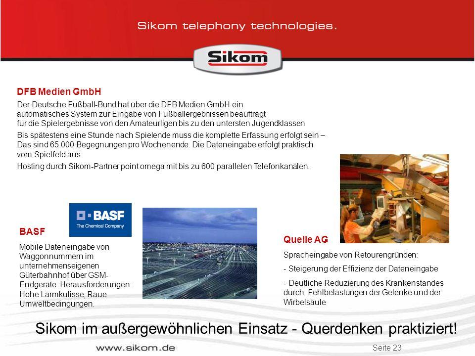 Seite 22 Sikom im außergewöhnlichen Einsatz - Querdenken praktiziert! e.on Bayern An- und Abmelden von Trafostationen für Wartungs- arbeiten über Spra
