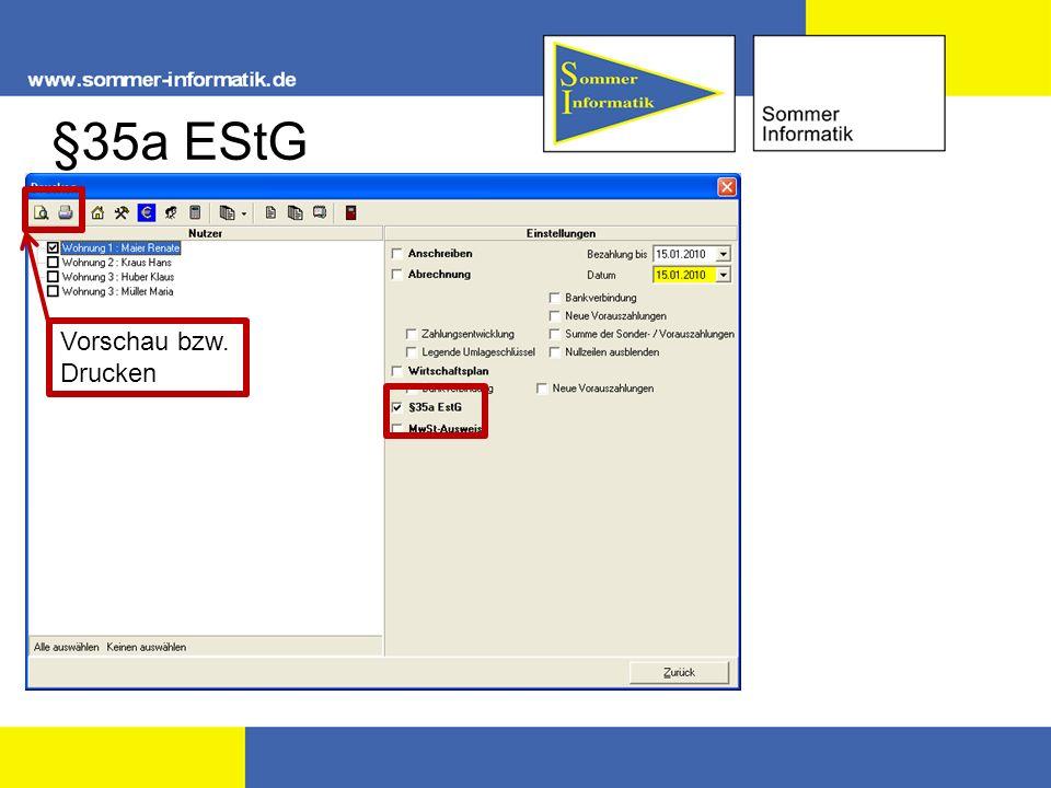 §35a EStG Vorschau bzw. Drucken