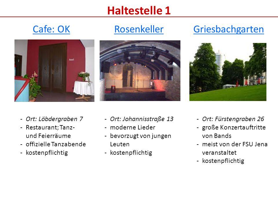 Haltestelle 2 Cafe Wagner Friedenskirche kath. Kirche F-Haus